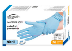 Hygonorm Allfood Safe nitriilkindad, 250 tk